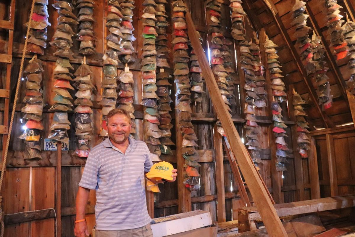 Busch with hat collection