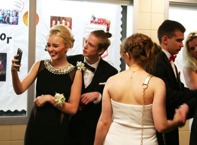 Fun times at the prom