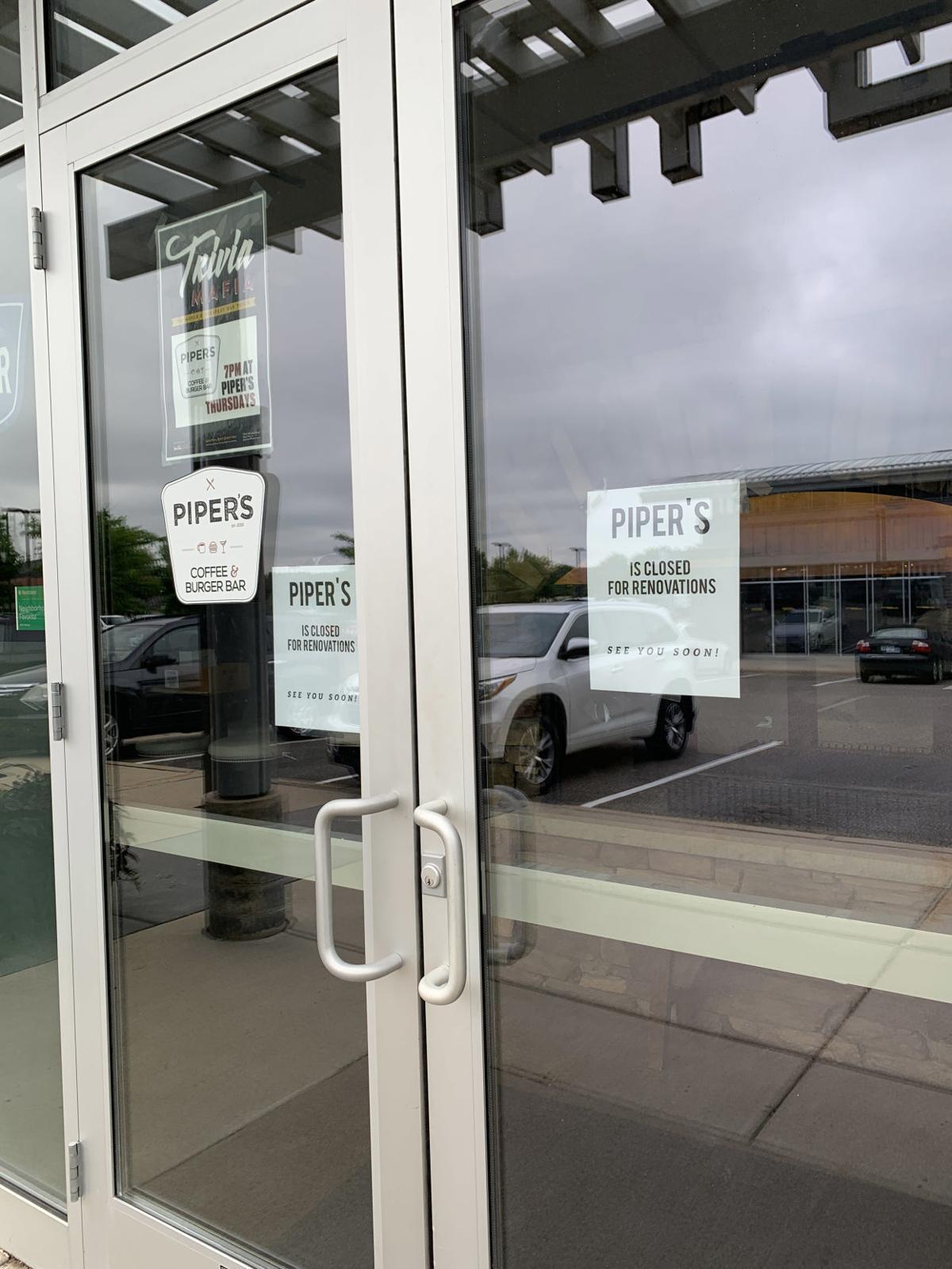 Piper's Eden Prairie sign