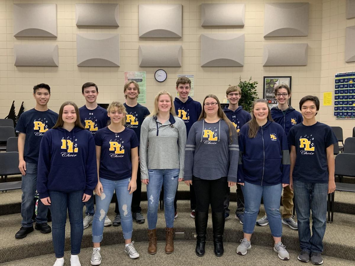 High school honors choir students