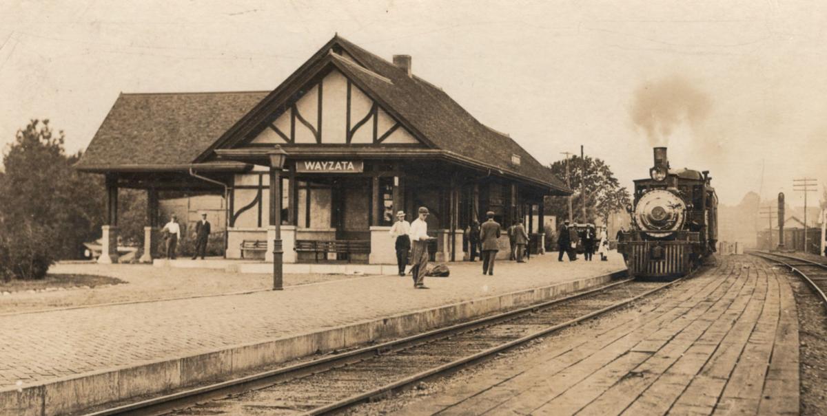 Wayzata Depot, historic photo