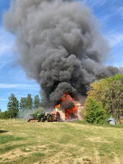 Cedar Lake Township fire