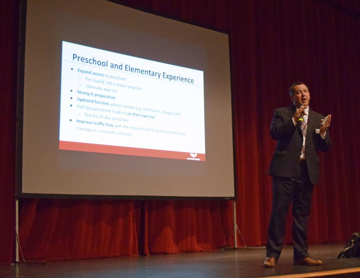 Josh Swanson presenting