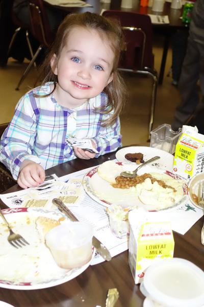 Jordan Fish Fry - little girl