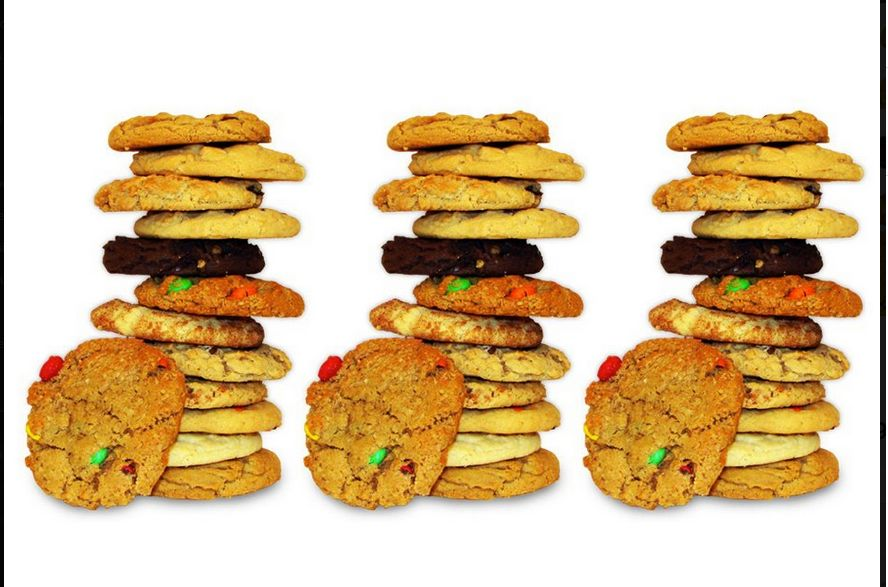 Eileen's Colossal Cookies - stacked cookies