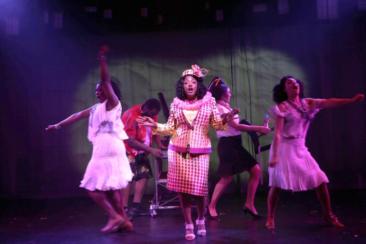 Oda Mae Brown rocks it out
