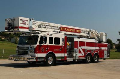 Shakopee Fire Department firetruck
