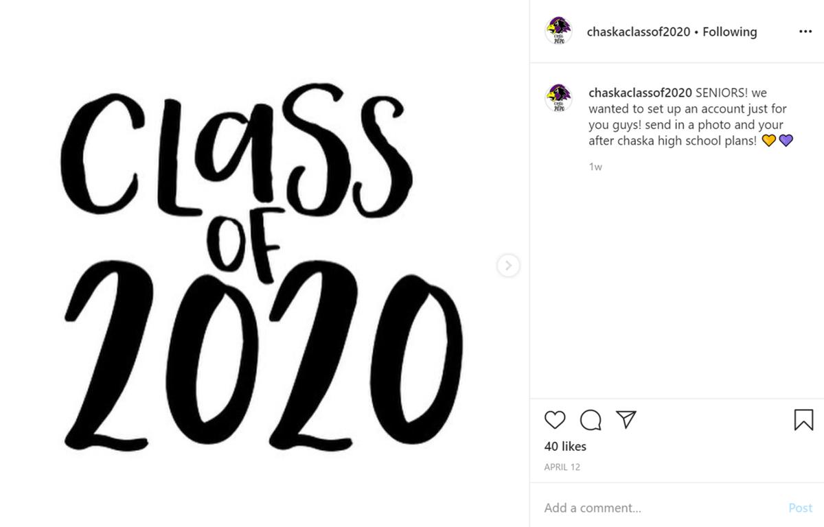 Chaska High School class of 2020