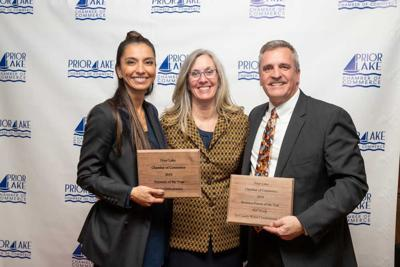 Prior Lake Chamber business and businessperson of the year 2019