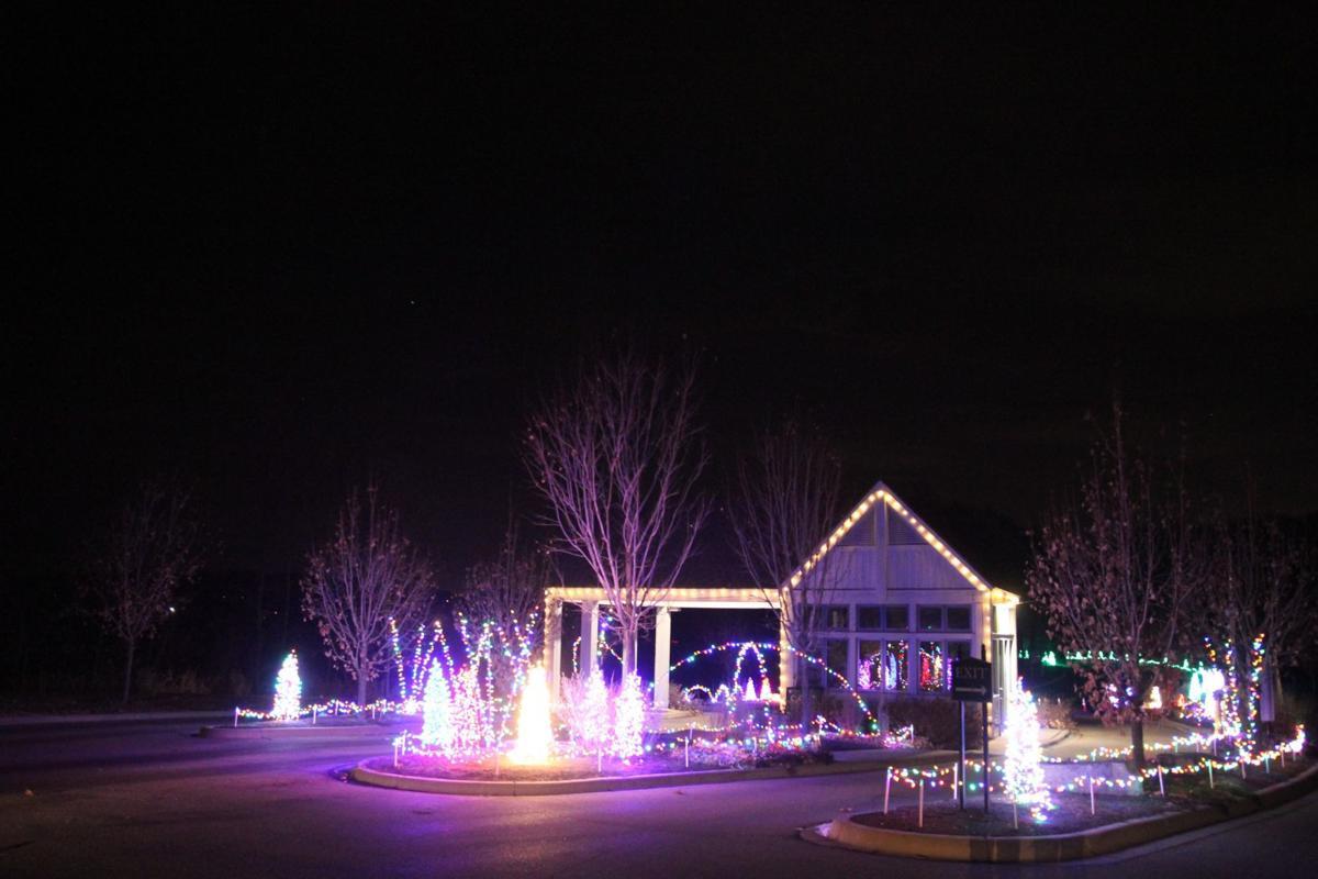 Gatehouse in lights