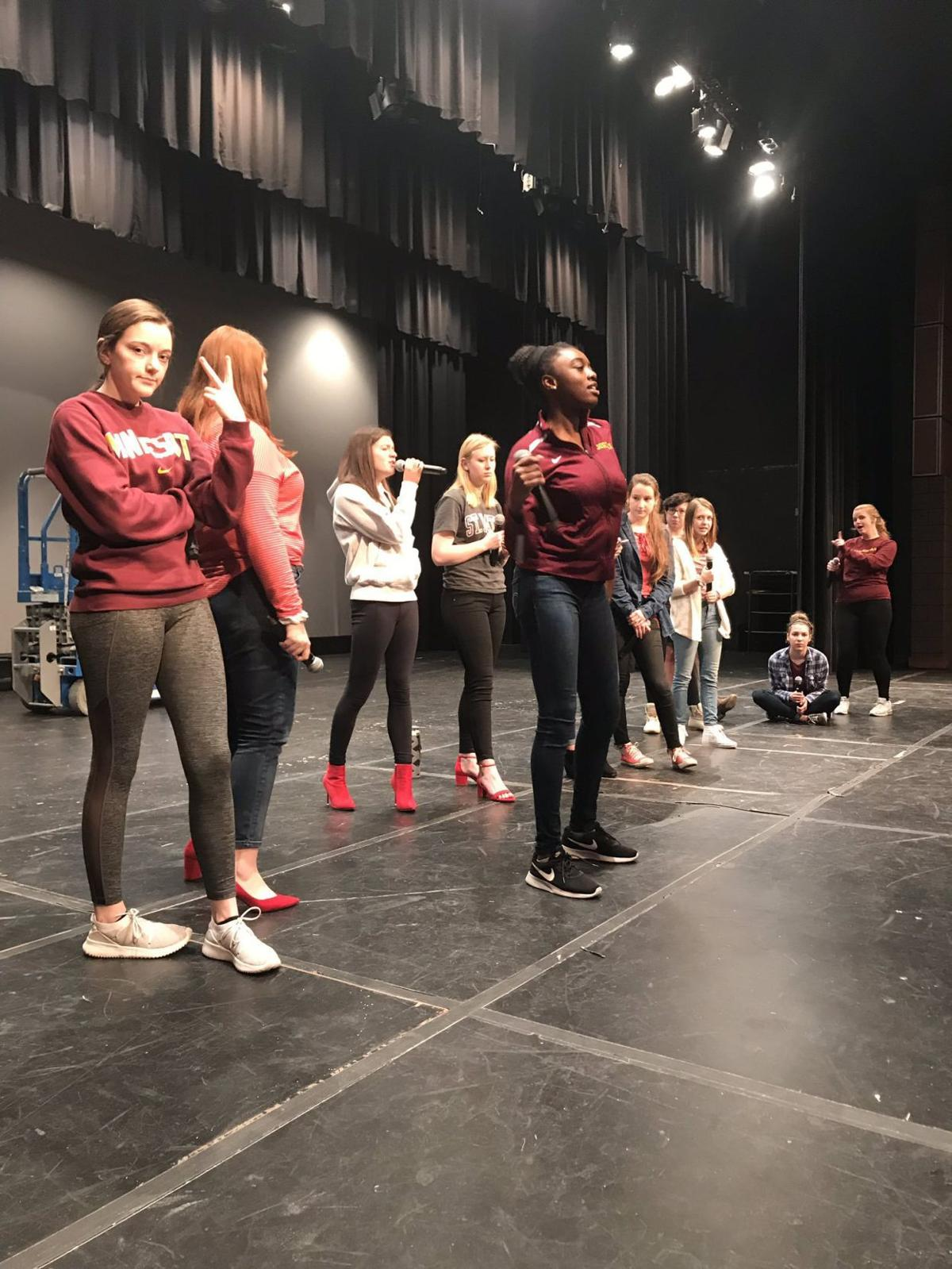 Harmonix rehearsal