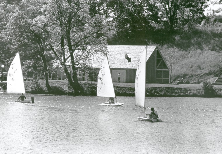 Lake Grace pavilion, 1971