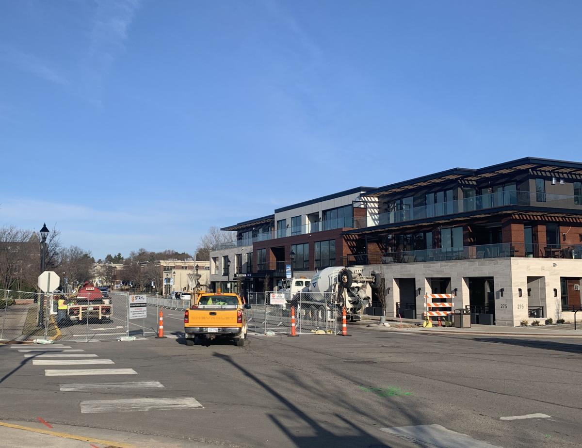 Lake Street Wayzata construction // Panoway on Wayzata Bay