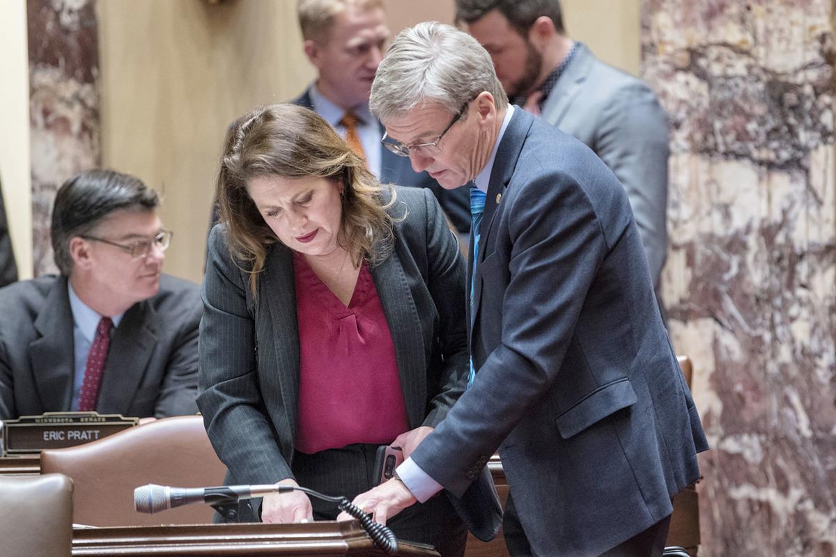 Sen. Scott Jensen, senate floor
