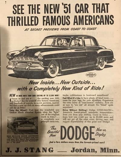 1951 Dodge Ad