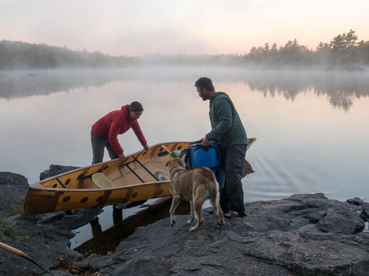 Boundary Waters canoe