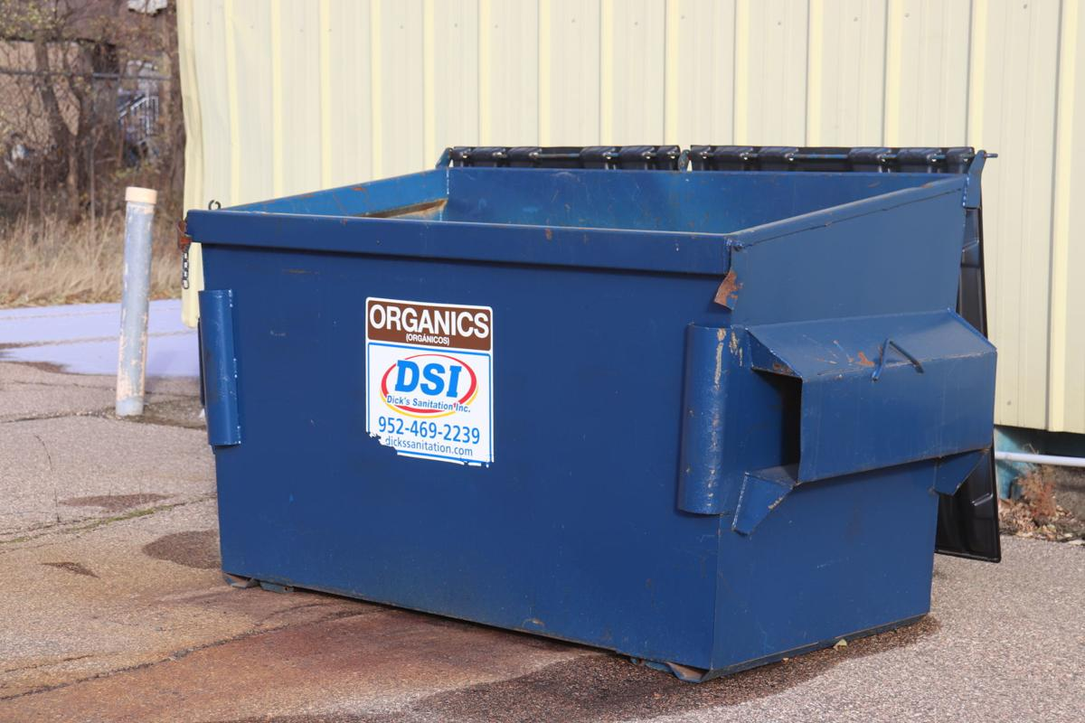 Jordan's organic dumpster