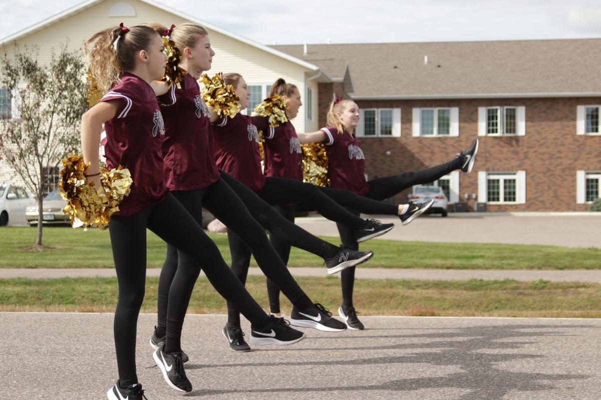 Jordan dance team at parade