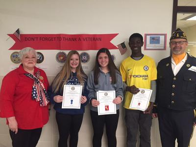 Three Shakopee Ninth Graders Place In Veterans Day Essay Contest  Vets Day Essay Winners