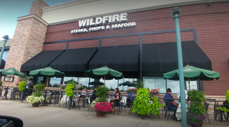 Wildfire - exterior signage