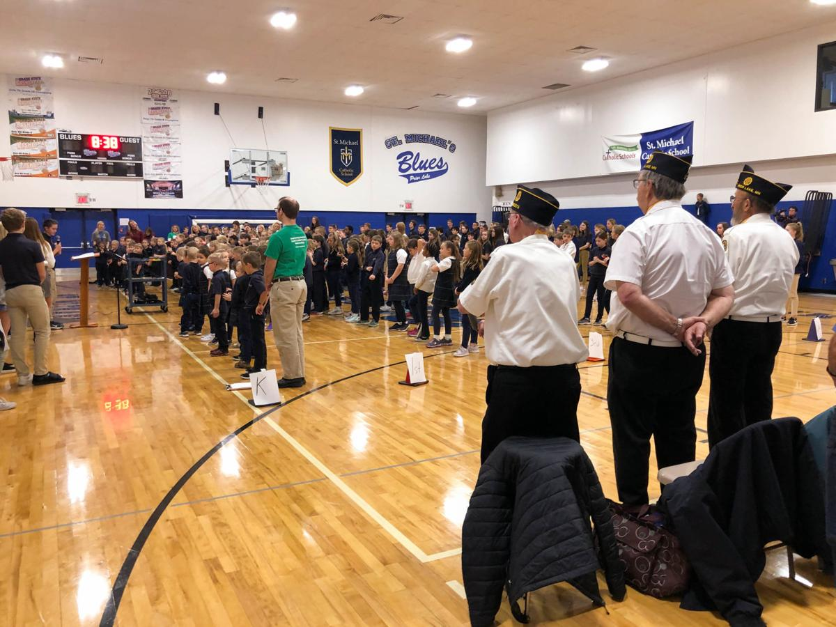 Veterans Day at St. Mike's