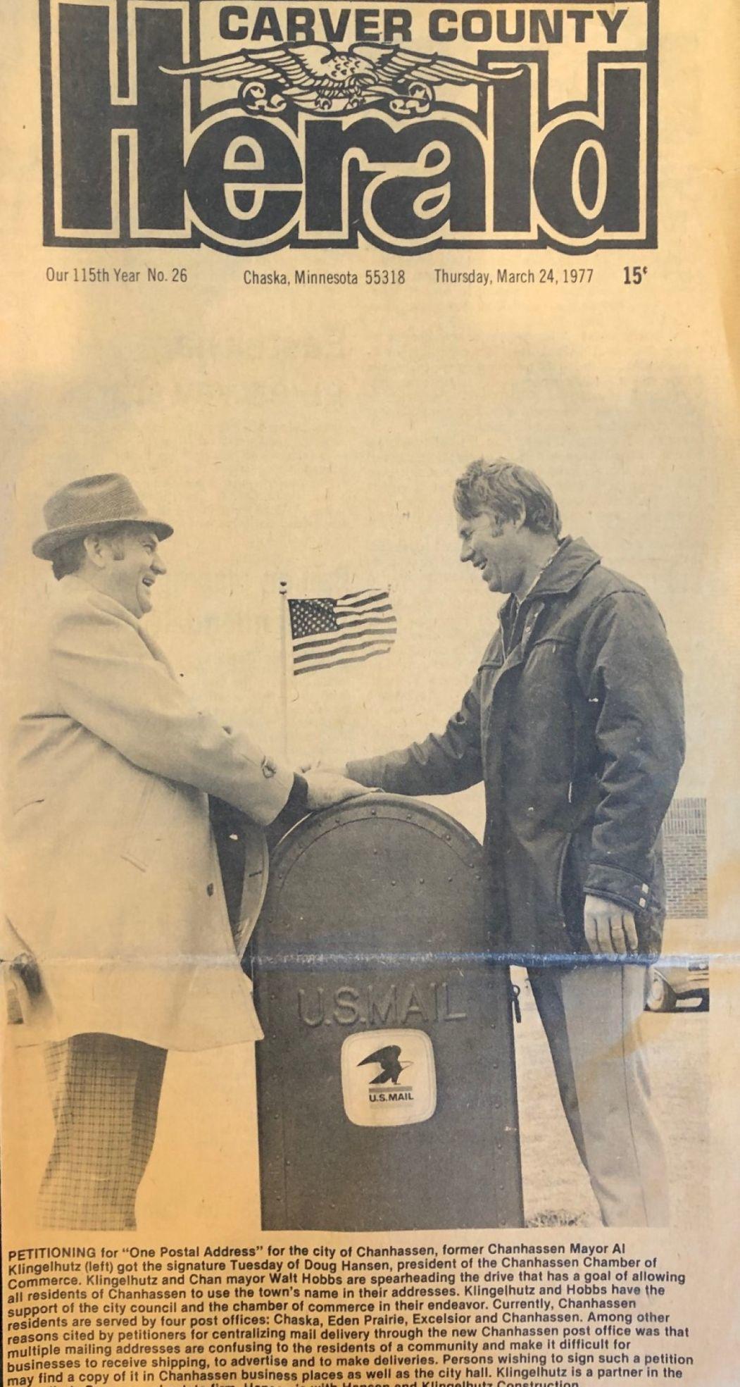 Al Klingelhutz and Doug Hansen