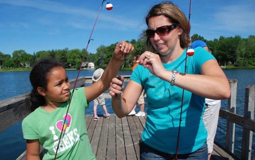 No license needed during take a kid fishing weekend for Age requirement for fishing license