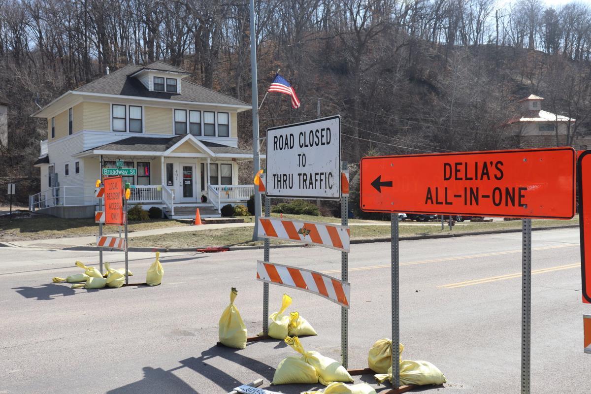 Highway 21 road closure