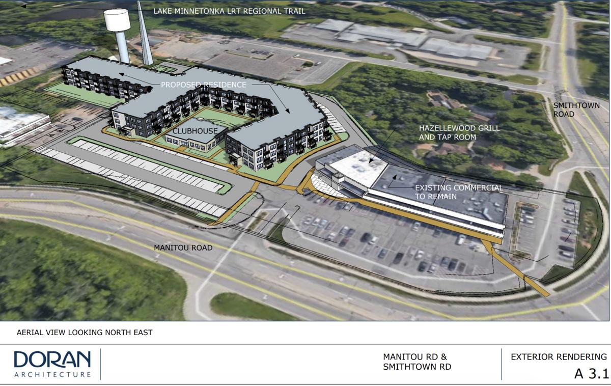 Tonka Village Shopping Center redevelopment proposal