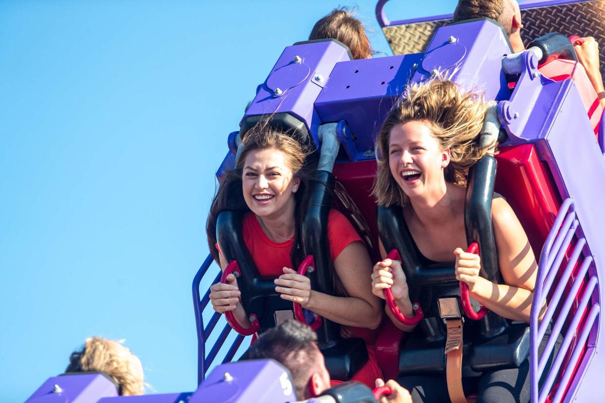 Valleyfair rollercoaster