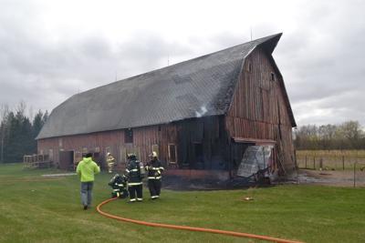 Belle Plaine barn fire