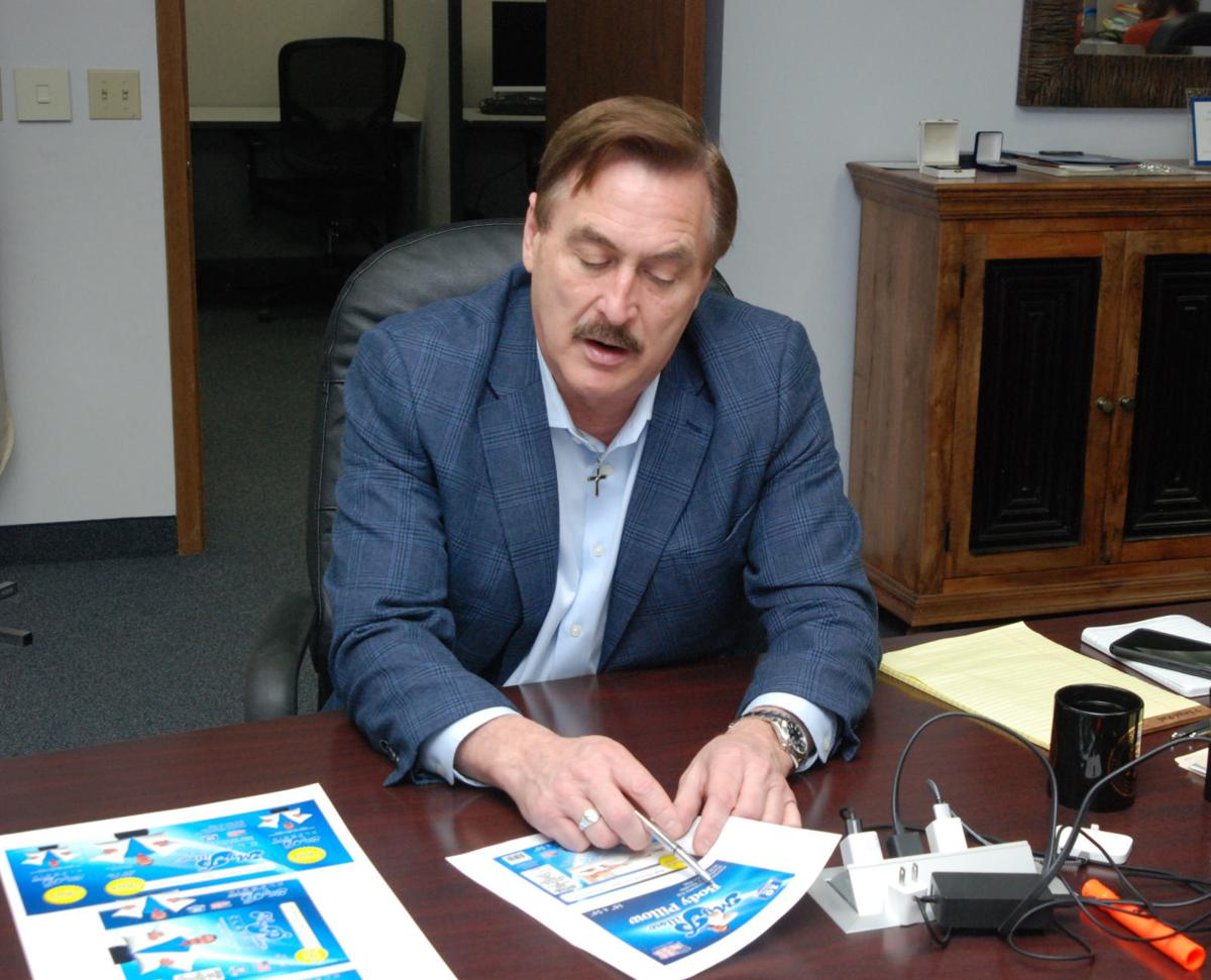 lindell mike swnewsmedia chaska ceo mark mypillow offices materials packaging company