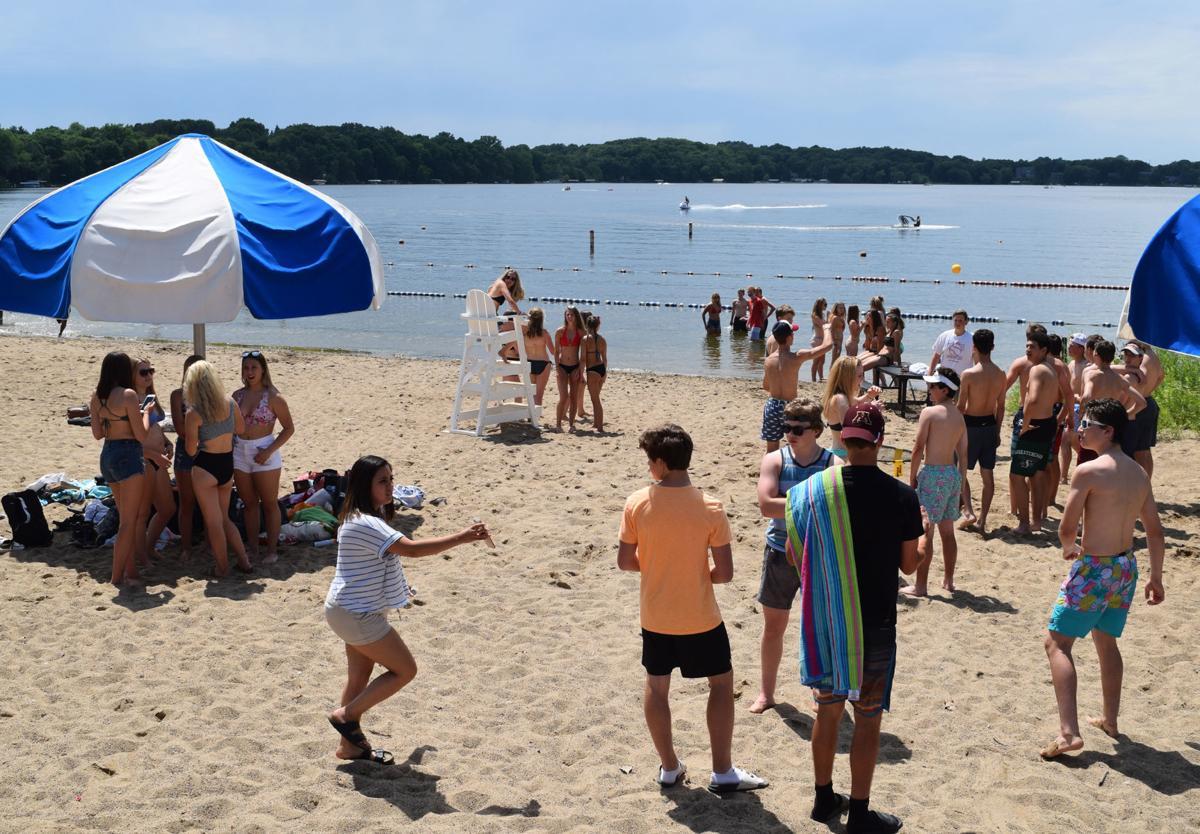 Riley Lake Park Beach Eden Prairie