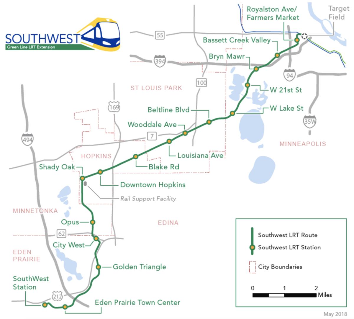 Celebratory groundbreaking kicks off Southwest Light Rail project