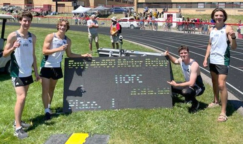 HFC Track - 4x400 Relay