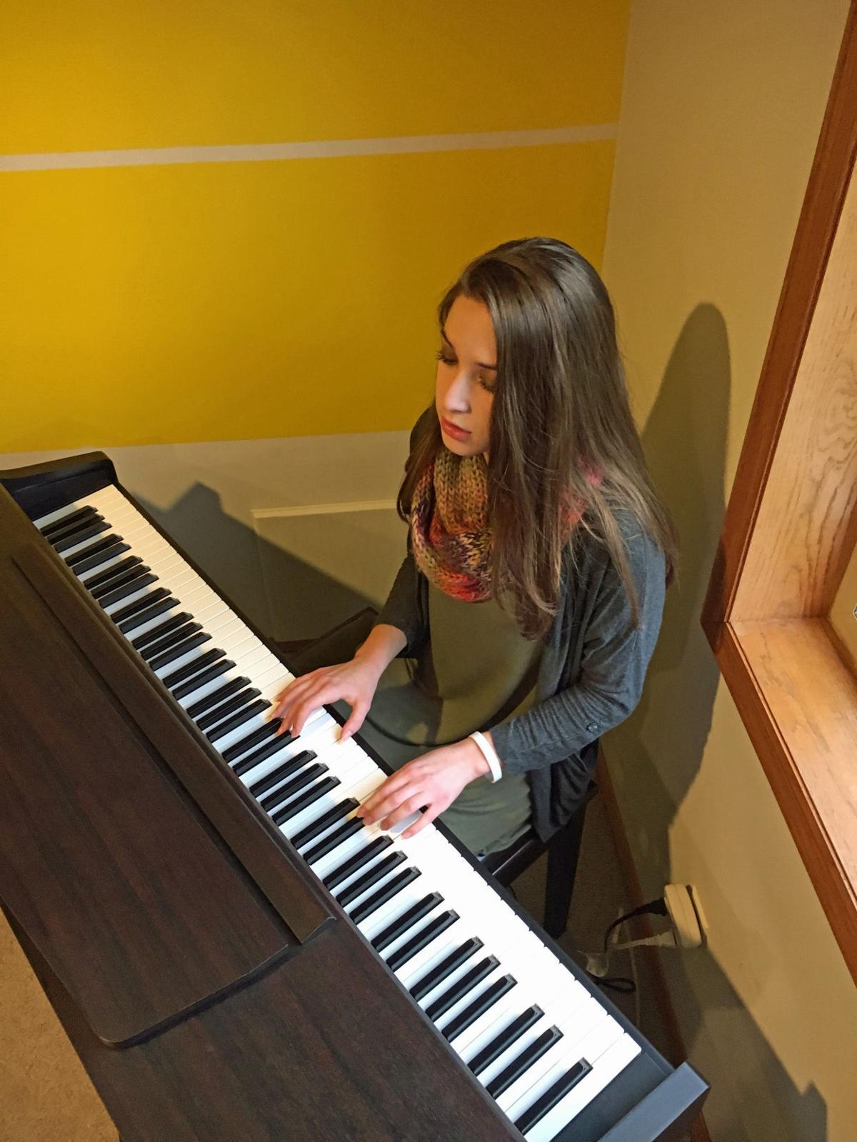 Super Star: Prior Lake High School student Gianna Bonello reaches for her dreams