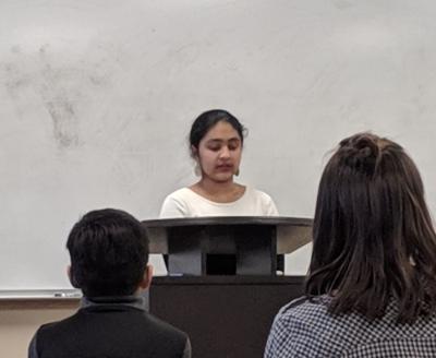 Divya Manvikar essay winner