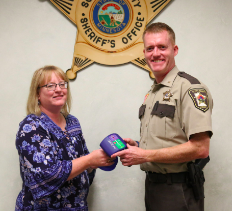 scott county sheriff s office receives 3 500 grant for cpr tools