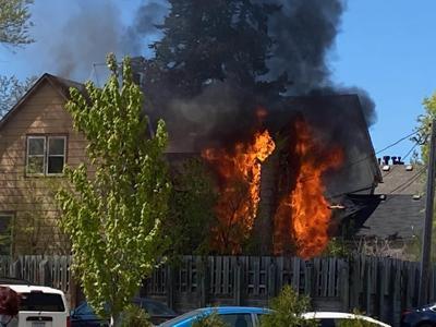 Pine Street house fire