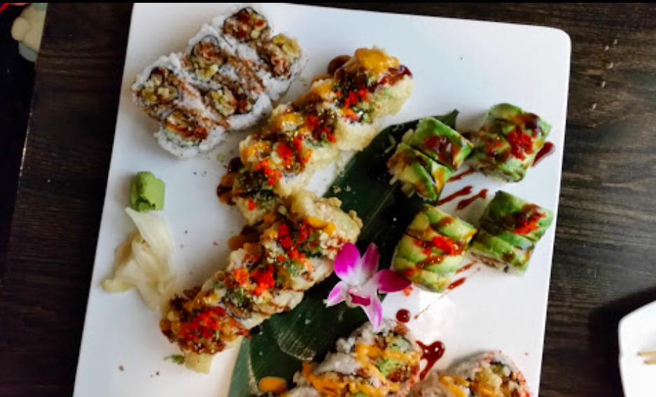 Sake Sushi - sushi plates