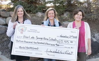 Prior Lake-Savage Area Schools receives grant for mental
