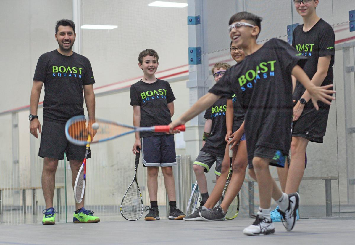 Boast Squash youth camp