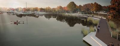 The lake walk