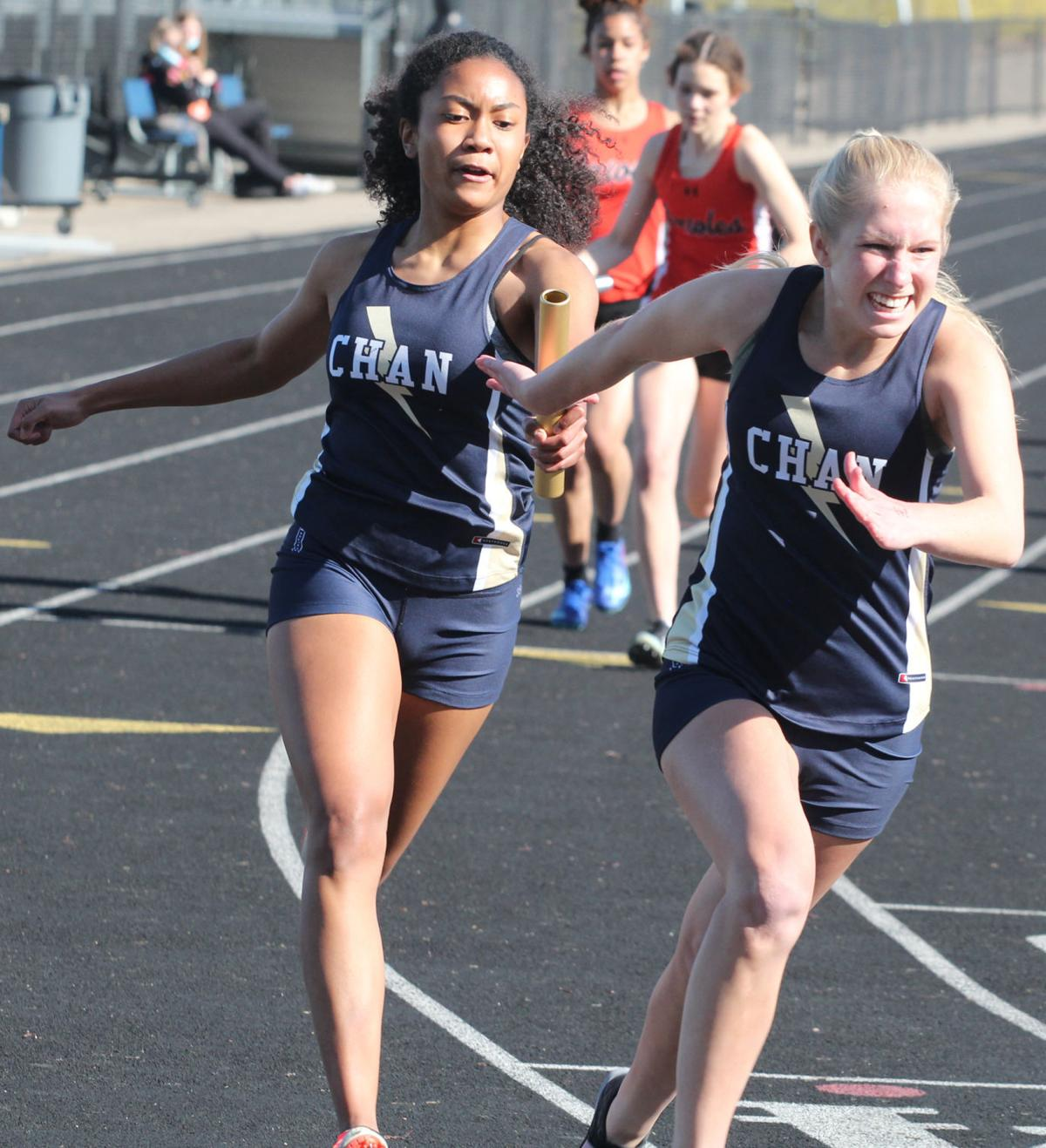 Chan Track - 4x100 Relay