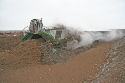 Turning compost (copy)