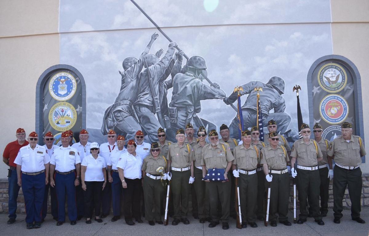 VFW at Iwo Jima mural