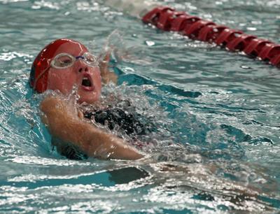 Shakopee girl swimming