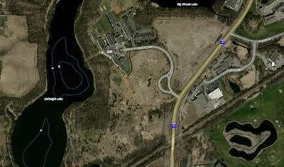 Oak Ridge land map