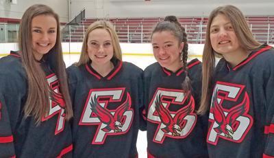 EPHS girls hockey captains