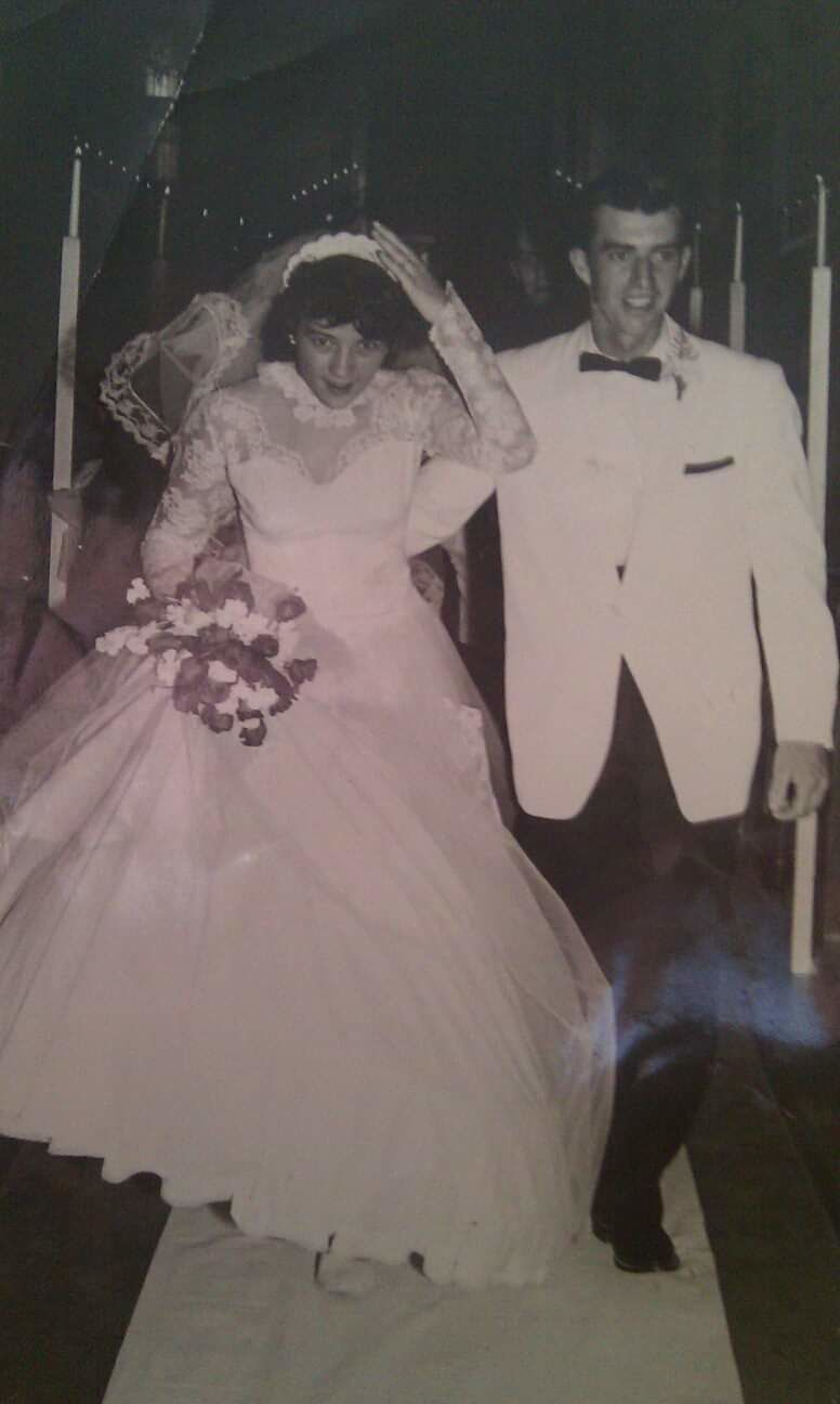Jerry and Ellamae Henry Wedding